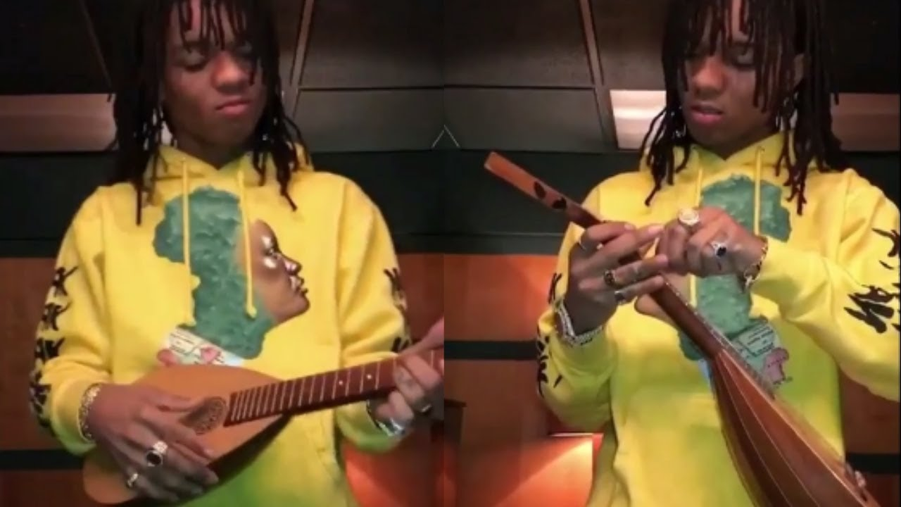 Swae Lee Plays The Guitar Baroq Ulele