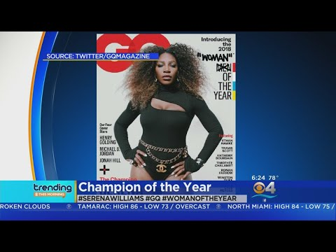 Sherry Mackey - Serena Williams Named GQ Woman of the Year