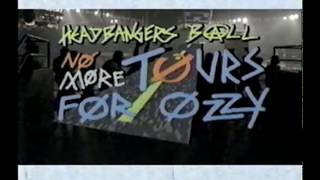 Riki Ratchman on No More Tours with Ozzy Osbourne - 1992