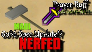 NEW UPDATES! Gmaul NERF? Protection Pray BUFF? LMS & BH Rework - Osrs PvP Update Ep. 1