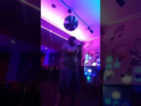 Steve at Karaoke