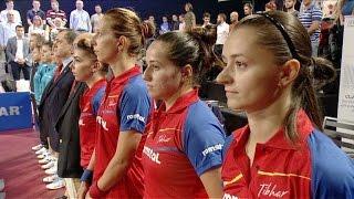 Preliminariile CE de tenis de masă 2017: România - Olanda, în direct la TVR1(Marţi, 24 ianuarie, în direct la TVR 1 şi TVR HD, fetele din Naţionala de tenis de masă a României întâlnesc reprezentativa Olandei într-un nou meci acasă ..., 2017-01-19T19:44:36.000Z)