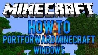 How To Port Forward Minecraft With a Linksys Router (Windows)