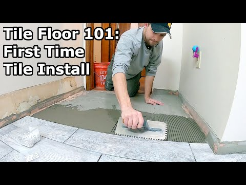 Tile Floor 101 Step By How To