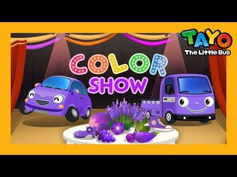 Mor L Renk Oyunu 4 L Küçük Otobüs Tayo простые вкусные домашние