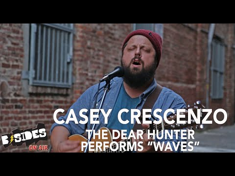 """B-Sides On-Air: Casey Cresenzo (The Dear Hunter) Performs """"Waves"""" Acoustic"""