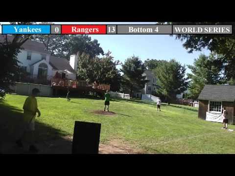SFWBL Wiffleball: 2013 World Series Game 1