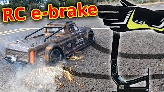 I fitted an e-brake to my RC Car (SPARKS!)
