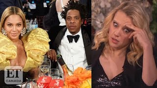 Kate Mckinnon Talks Beyonce, Jay Z At Golden Globes