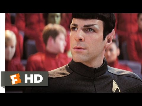Star Trek (2/9) Movie CLIP - A Pointy-Eared Bastard (2009) HD