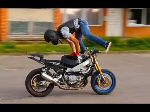 Stunts Motorcycles Kawasaki, Yamaha, Suzuki, Honda