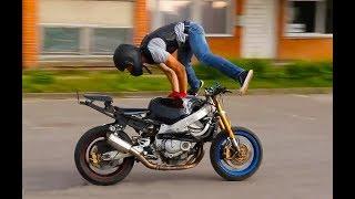 Трюки Мотоциклы Kawasaki, Yamaha, Suzuki, Honda. Stunts Motorcycles Kawasaki, Yamaha, Suzuki, Honda