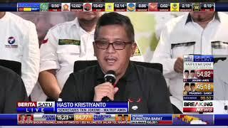 Download TKN Deklarasikan Kemenangan Jokowi-Ma'ruf di Pilpres 2019 Mp3 and Videos