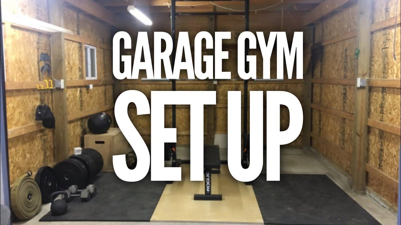 Garage gym is set up youtube