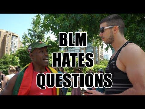 "Squatting Slav TV vs. Black Lives Matter ""March on Pride"""