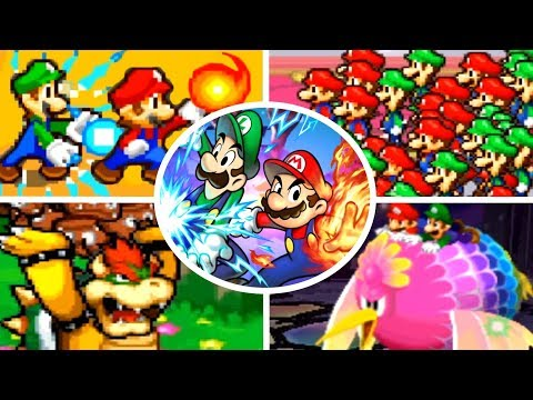 Evolution of Bros. Attacks in Mario & Luigi Games (2003-2017)