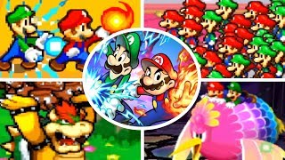 Evolution of Bros. Attacks in Mario & Luigi Games (2003-2017)