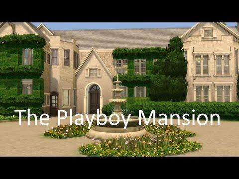 The Sims 4 Playboy Mansion Hugh Hefner