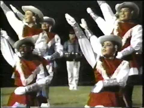 A.S. Johnston Ram Band - 1989 Halftime vs Austin High