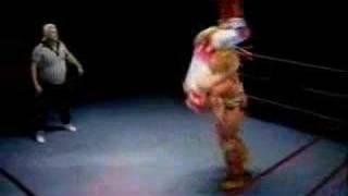 Ultimate Warrior versus Phil Collins - WrestleCrap