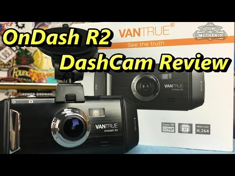 Review Of The VanTrue OnDash R2 2K HD Dash Cam