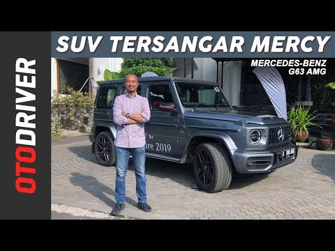 Mercedes-AMG G 63 Edition 1 2019 Review Indonesia | OtoDriver