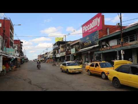 Paraguay Asuncion Marché municipal / Paraguay Asuncion Municipal market