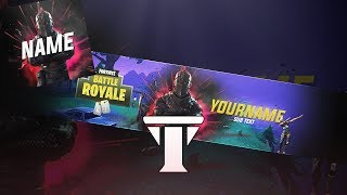 Free New Fortnite Banner & Avatar Template 2018 | Photoshop CS6 & CC