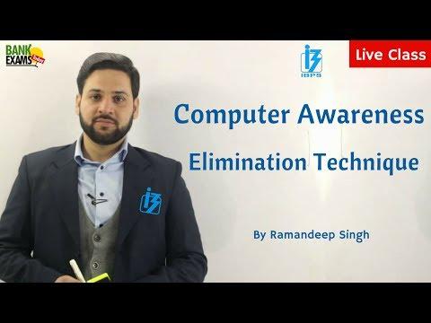 Computer Awareness Elimination Technique - Score 20 out of 20