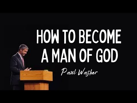 Download Becoming a Man of God   Paul Washer