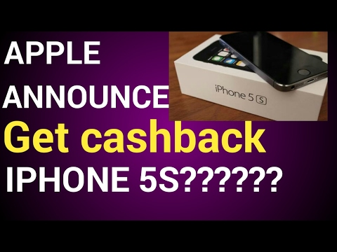 Apple cashback offer on iphone 5s