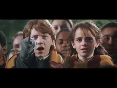 Harry Potter 2 แฮรี่พอตเตอร์กับห้องแห่งความลับ (ฉากขี่ไม้กวาด) #จำฉากนี้ได้ป้ะ