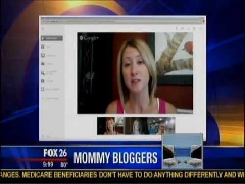 Google Hangout Houston  Mommy Bloggers