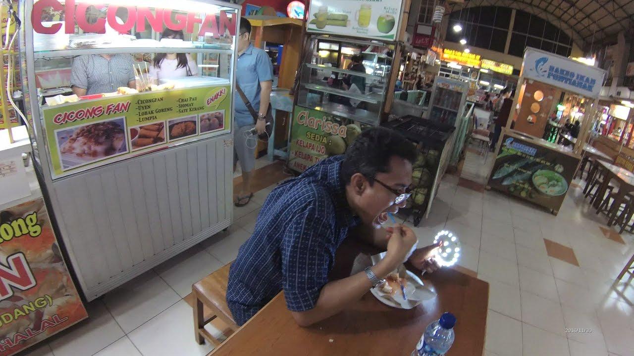 Jakarta Street Food 1075 Part 2 Turnip Cake Kue Lobak Food Plaza Pik 5954