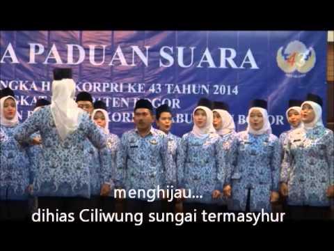 Lirik dan Lagu Mars Tegar Beriman Kabupaten Bogor