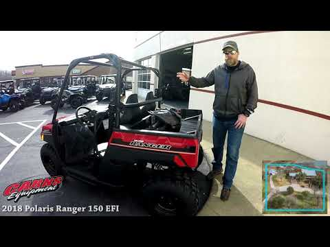 2018 Polaris Ranger 150 EFI - Carns Equipment - Clearfield PA