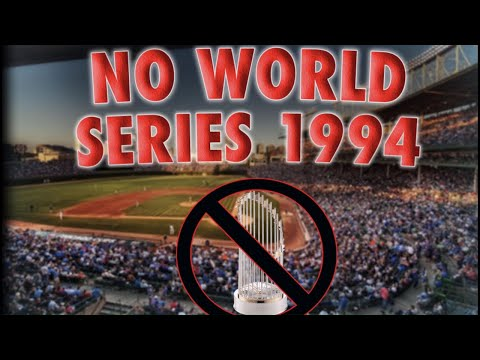 NO WORLD SERIES? (1994 MLB Strike) - Baseball Storytime