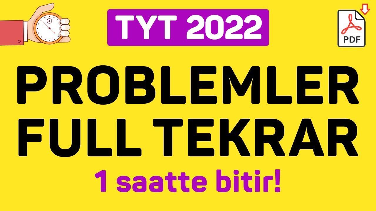 PROBLEMLER FULL TEKRAR | 2021 | +PDF | ŞENOL HOCA