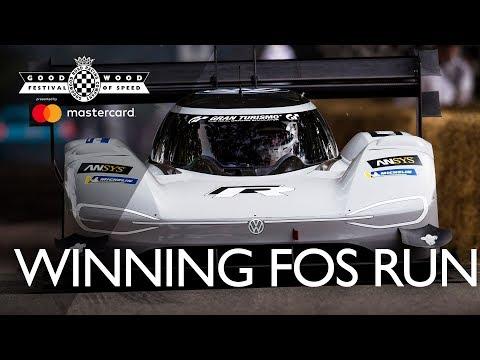 Volkswagen I.D. R Pikes Peak's winning FOS run, third fastest ever