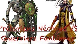 Prétoriens Necrons VS guerriers fantômes: Duel Warahmmer 40000! Fantômes contre fantômes!!!(, 2015-06-05T15:04:01.000Z)