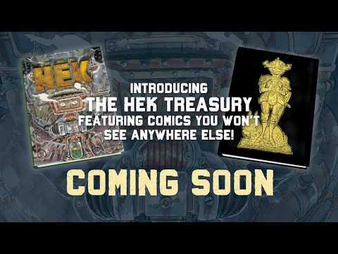 We Speak with the Team Behind THE HEK TREASURY Kickstarter!