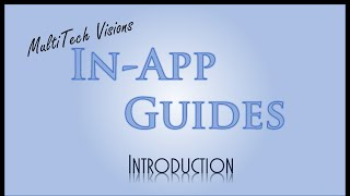 MultiTech In-App Guides | Introduction