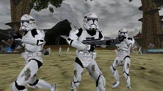 Star Wars Battlefront 2 Mods (PC) HD: Kashyyyk Episode 3 Mod   Galactic Civil War