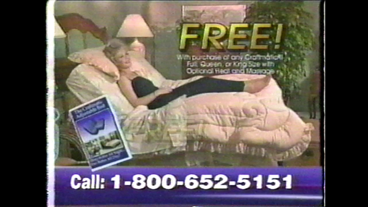 the craftmatic adjustable bed commercial - Craftmatic Bed