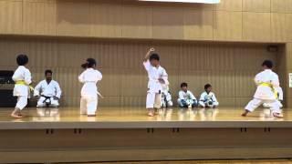 普段練習に使わせてもらっている横浜市奈良地区センターのお祭りで演武...