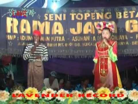 Topeng Betawi Rama Jaya Group  Part, 5