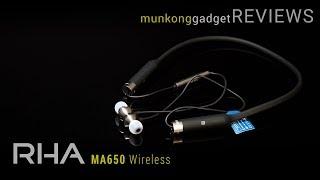 รีวิว : หูฟังไร้สาย RHA MA650 Wireless