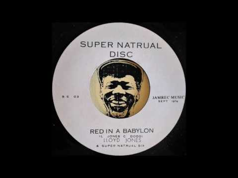 LLOYD JONES - Red In A Babylon [1974]