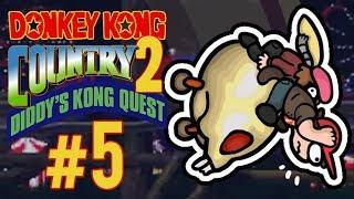 ★ Gehobener Service und Donkey Kong - Donkey Kong Country 2 Diddy