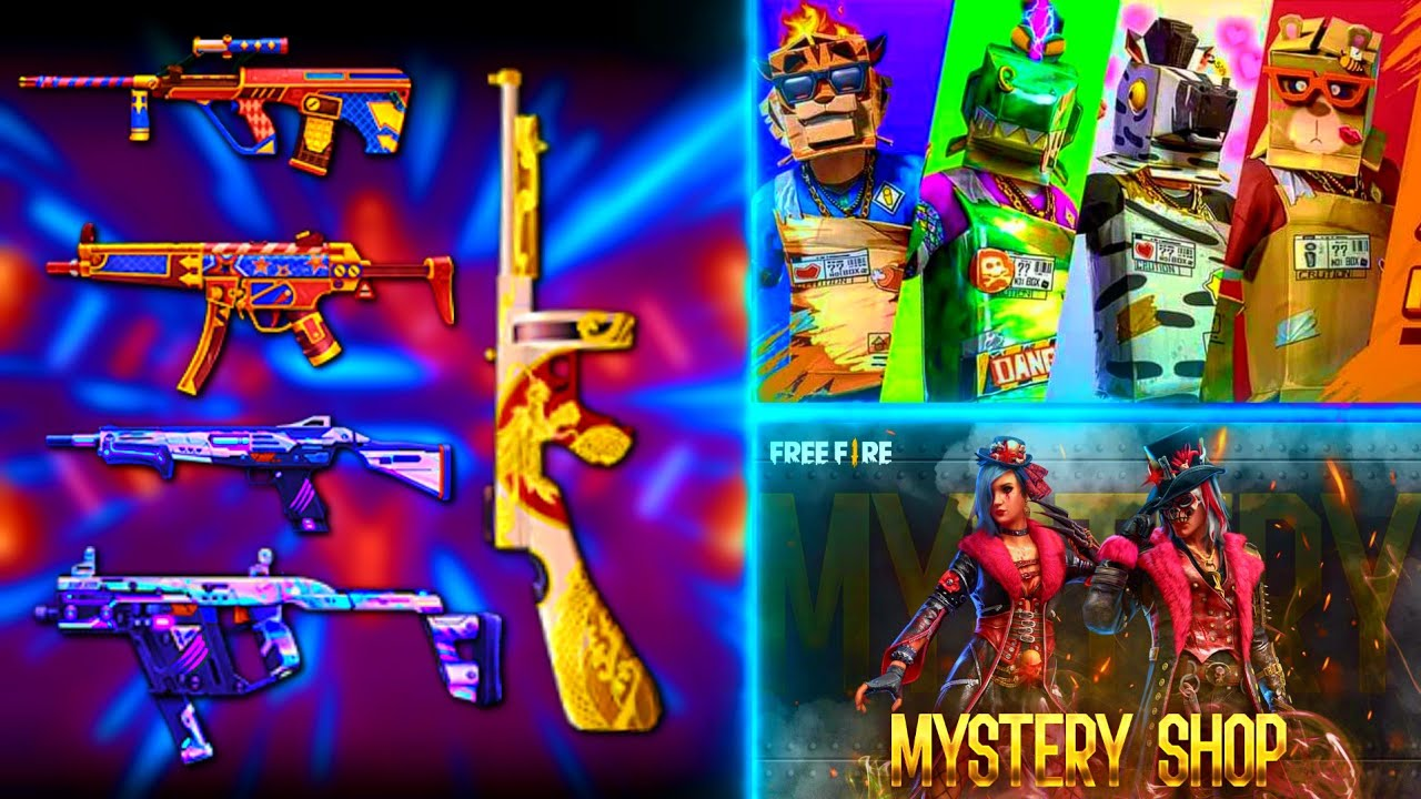 NEW UPDATES🔥 NEW THOMPSON LEGENDARY SKIN AND OTHER SKIN REVIEW | MYSTERY SHOP | BALANCE VECTOR IN FF